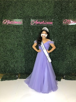 Sherri Hill Purple Size 6 Lavender Short Height Ball gown on Queenly