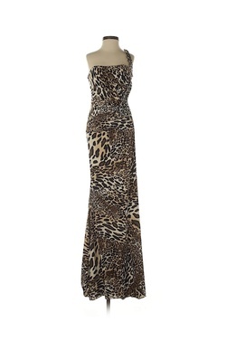 Jovani Black Size 0 Tall Height A-line Dress on Queenly