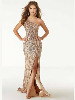 Queenly size 20 Mori Lee Gold Mermaid evening gown/formal dress