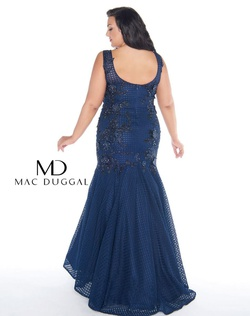 Style wardrobe-1607735488108 Mac Duggal Red Size 18 Prom Tall Height Mermaid Dress on Queenly