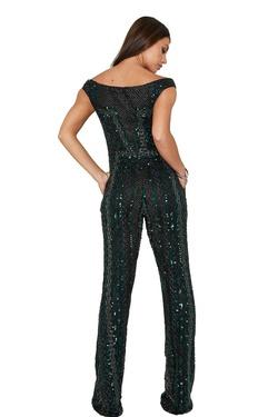 Style 373 Aleta Multicolor Size 18 Plus Size Romper/Jumpsuit Dress on Queenly