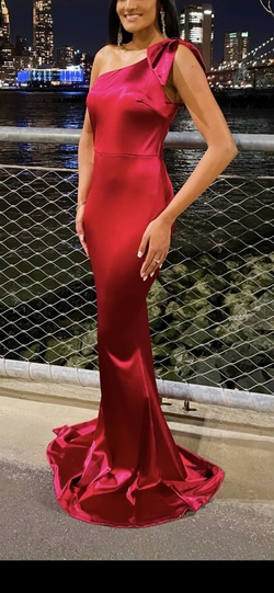 Queenly size 0  Red Mermaid evening gown/formal dress
