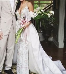 Sherri Hill White Size 2 Pageant Tall Height Train Dress on Queenly