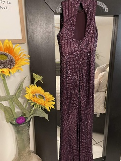 Vince Camuto Purple Size 6 Mermaid Dress on Queenly