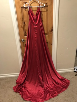 Sherri Hill Red Size 4 Pockets Train Dress on Queenly