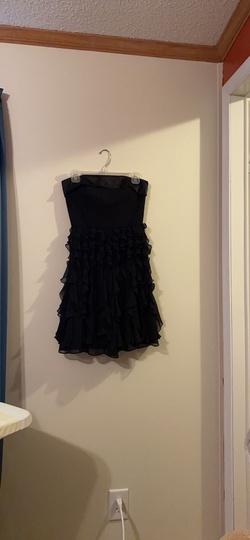 White House Black Market Black Size 00 Nightclub Strapless Cocktail Dress on Queenly