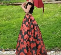Dave and Johnny Multicolor Size 0 Prom Ball gown on Queenly