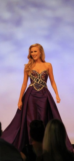 Sherri Hill Purple Size 6 Jewelled Sequin Train Dress on Queenly