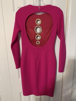 Forever Unique Pink Size 2 Tall Height Wedding Guest Cocktail Dress on Queenly