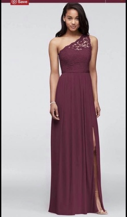 Red Size 14 Straight Dress on Queenly