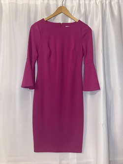 Queenly size 4 Calvin Klein Pink Cocktail evening gown/formal dress
