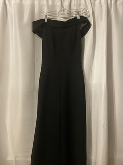 Sherri Hill Black Size 6 Jumpsuit Dress on Queenly