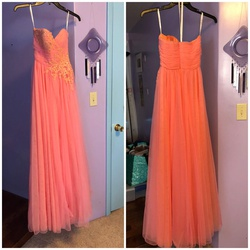 Sherri Hill Pink Size 0 Ball gown on Queenly