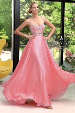 Style 6046 Alyce Paris Green Size 12 A-line Dress on Queenly