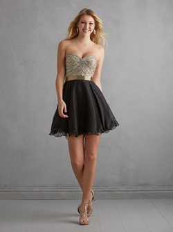 Queenly size 14 MADISON JAMES FORMERLY NIGHT MOVES Black Cocktail evening gown/formal dress