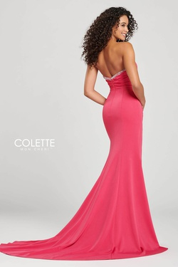 Style CL12029 Colette Green Size 10 Prom Side slit Dress on Queenly