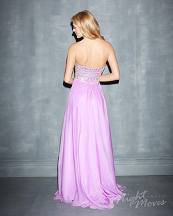 Style 7006 Madison James Purple Size 8 A-line Dress on Queenly