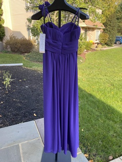 Bill Levkoff Purple Size 10 Straight Dress on Queenly