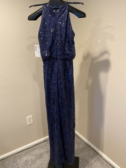 Queenly size 10 Bill Levkoff Blue Straight evening gown/formal dress