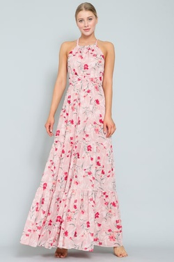 Style 1584297240 Pink Size 6 Straight Dress on Queenly