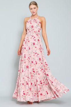 Queenly size 10  Pink Straight evening gown/formal dress
