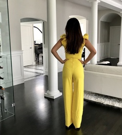 Yellow Size 0 Jumpsuit Dress on Queenly