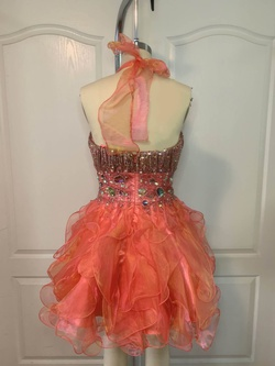Shail K Orange Size 0 Fun Fashion Cocktail Dress on Queenly