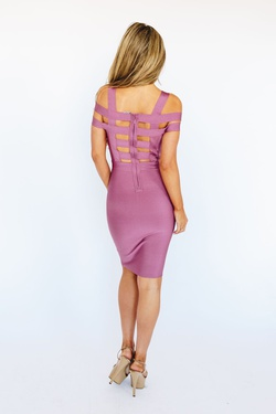 Style K5181 Wow Pink Size 10 Tall Height Cocktail Dress on Queenly