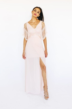 Style D16861 Pink Size 2 Side slit Dress on Queenly