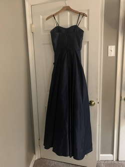 Blondie Nites Blue Size 4 Prom A-line Dress on Queenly