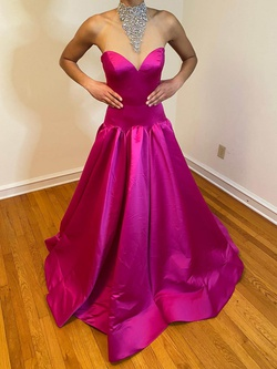 Queenly size 2 Jovani Pink Ball gown evening gown/formal dress