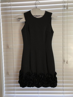 Queenly size 6  Black Cocktail evening gown/formal dress