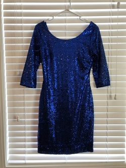 Queenly size 6  Blue Cocktail evening gown/formal dress