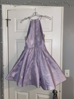 Sherri Hill Purple Size 2 Prom Lavender Blue A-line Dress on Queenly