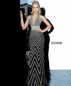 Queenly size 00 Jovani Multicolor Straight evening gown/formal dress