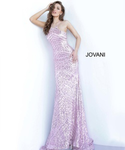 Style 4132 Jovani Pink Size 00 Pageant Prom Straight Dress on Queenly