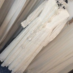 Vintage Emma Dom White Size 8 Pageant Vintage Tall Height A-line Dress on Queenly