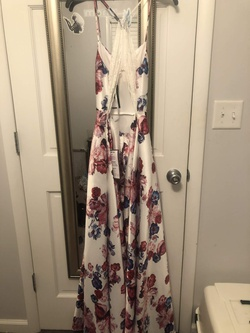 White Size 4 A-line Dress on Queenly