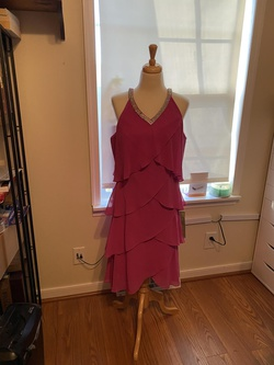 S.l.fashion Pink Size 14 Plus Size Straight Dress on Queenly