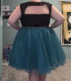 Sydneys Closet Multicolor Size 26 Black Plus Size Cocktail Dress on Queenly
