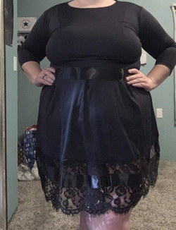 Blue Size 24 Cocktail Dress on Queenly