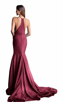 Jovani Red Size 14 Prom Plus Size Straight Dress on Queenly