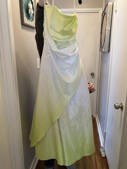 Queenly size 8  Green Straight evening gown/formal dress