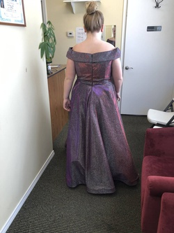 Purple Size 16 Ball gown on Queenly