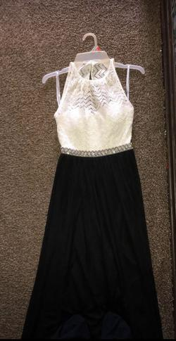 Speechless Black Size 0 Prom Straight Dress on Queenly