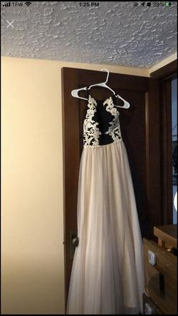 Blondie Nites Multicolor Size 0 White Prom A-line Dress on Queenly