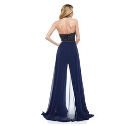 Colours Blue Size 10 Overskirt Jumpsuit Dress on Queenly