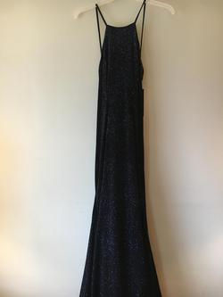 Jovani Black Size 4 Backless Mermaid Dress on Queenly