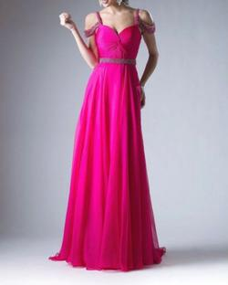 Queenly size 4  Pink A-line evening gown/formal dress