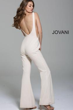 Jovani Green Size 0 Backless Jumpsuit Dress on Queenly